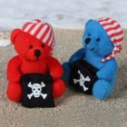 Novelty Teddy Bear Pirate Doll Plush Soft Toy 4