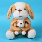 Mother & Son Dog Lovely Doll Plush Soft Toy 9
